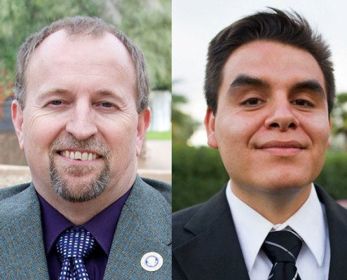 Scott Prior (L) and Juan Mendez (R), two Arizona politicians who are standing up for Secular Arizonans